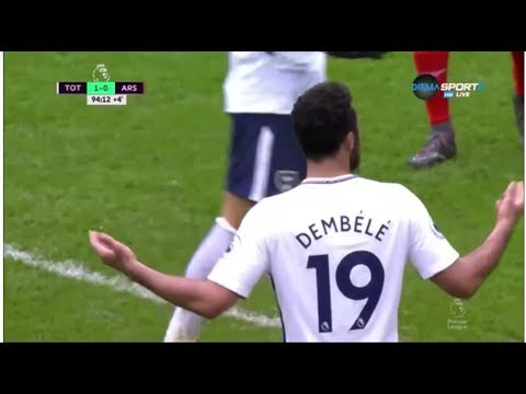 Mousa Dembele vs Arsenal (H) 17/18