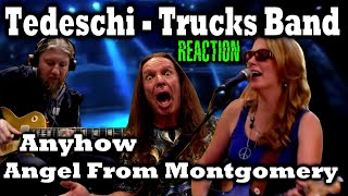Vocal Coach Reacts To Susan Tedeschi and Derek Trucks | Angel From Montgomery | Anyhow | Ken Tamplin
