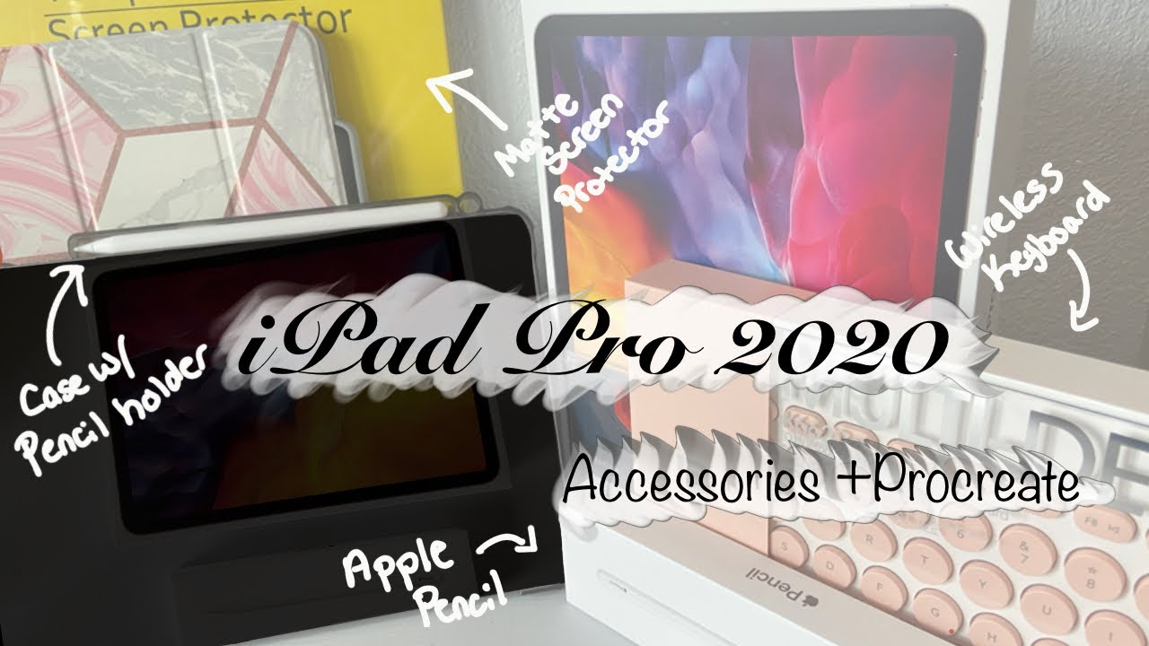 Ipad Pro 11-inch 2020 Unboxing: Accessories + Procreate ...