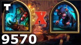 Hearthstone: Kobolds & Catacombs Shaman vs Giant Rat [01] (9570)