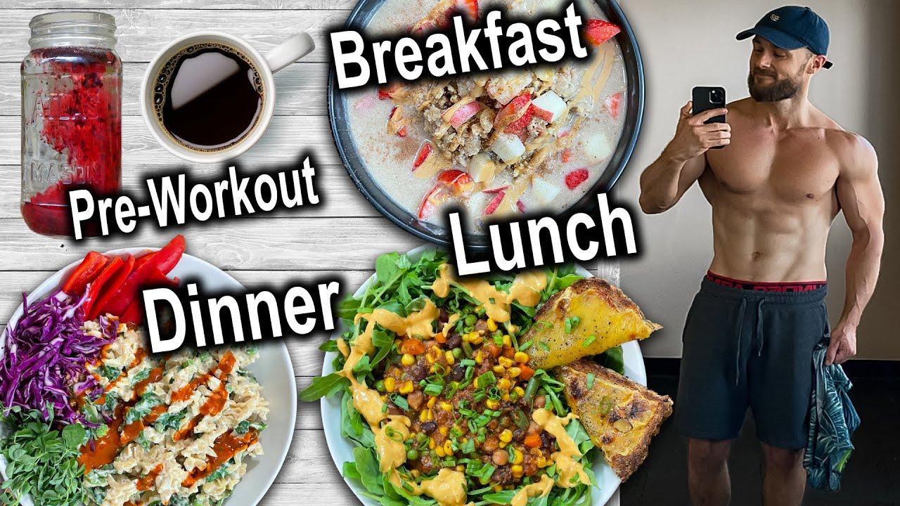 3 Quick u0026 Healthy Vegan Meals  Full Day Of Eating Comfort Foods
