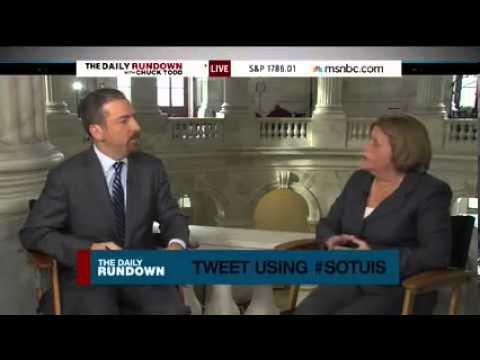 Ileana Ros-Lehtinen on MSNBC Discussing State of the Union