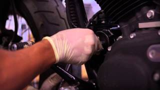 how to change your motorcycle oil v twin