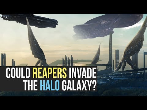 Could the Halo Galaxy Survive a Reaper Invasion? Mass Effect vs Halo: Galactic Versus