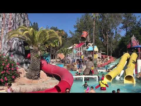 Raging Waters Los Angeles California 2019 | Water Park | Beat the Summer Heat