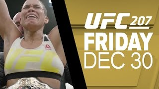 UFC 207: Amanda Nunes - I'm Going to Make a Statement