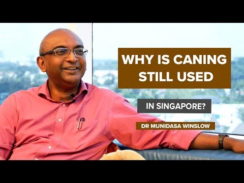 Why Is Caning Still Used in Singapore? | Dr Muni Winslow
