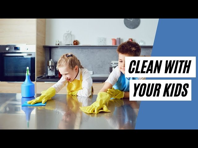 Tips To Get Your Children To Like CLEANING (Clean With Your Kids)