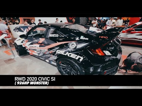 ONE OF A KIND 926HP RWD 2020 CIVIC SI MONSTER