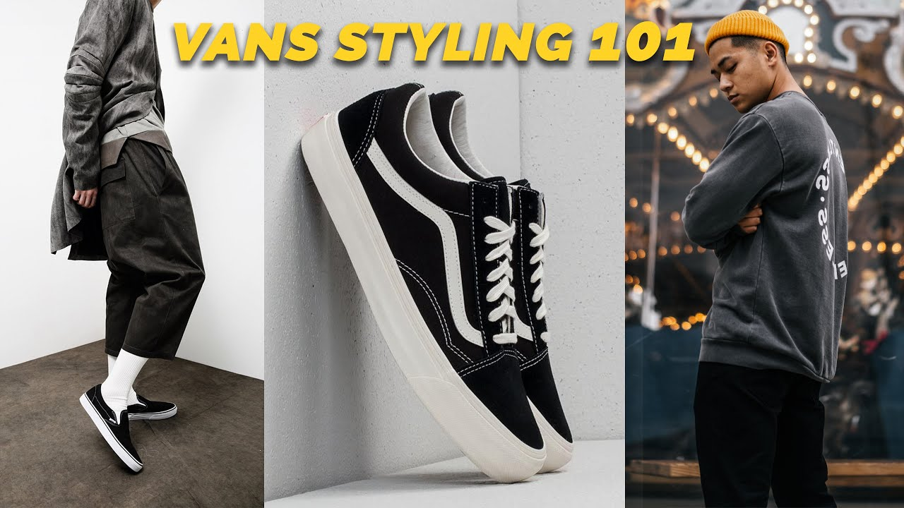 How To Style Vans (You're Probably Buying The Wrong Ones...)