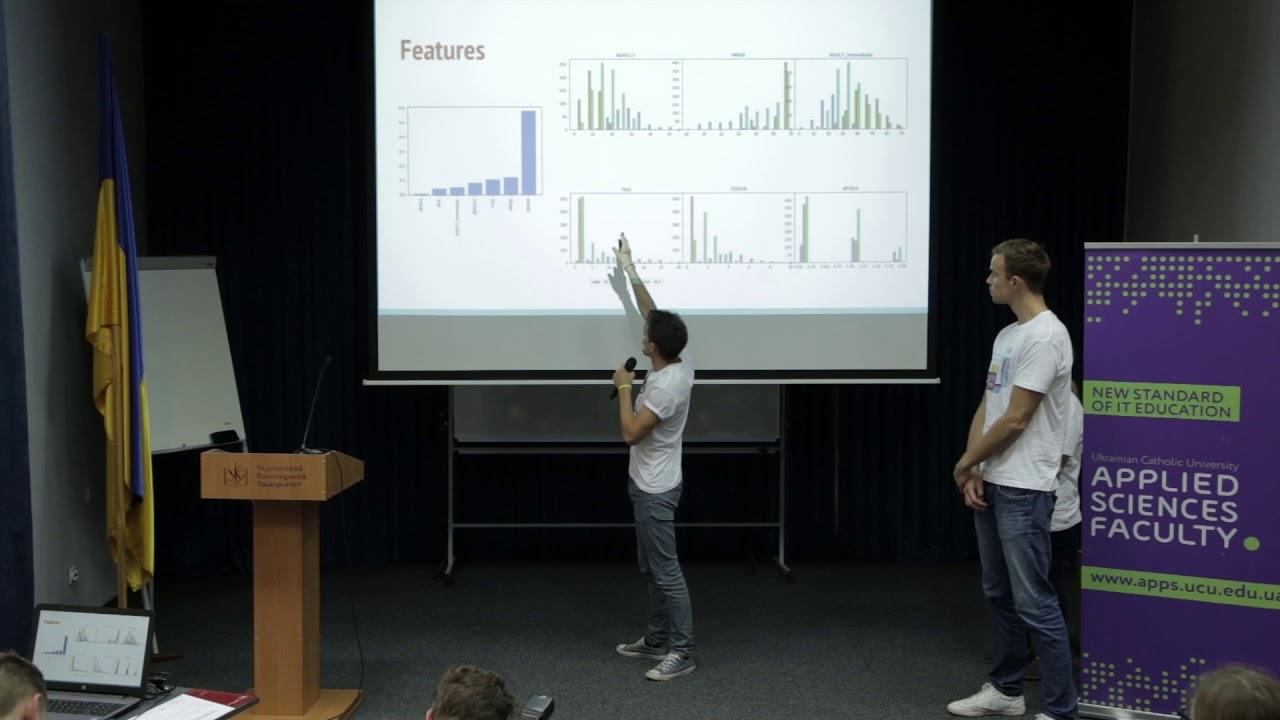 Alzheimer's disease prediction (1) - Project presentation at LvDS 2018