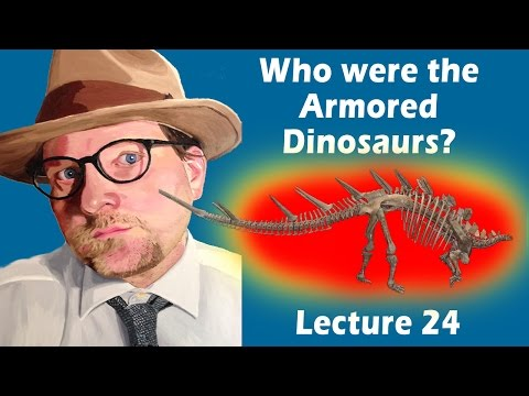 Who were the Armored Dinosaurs?