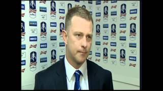 Mark Robins post-match v Tottenham