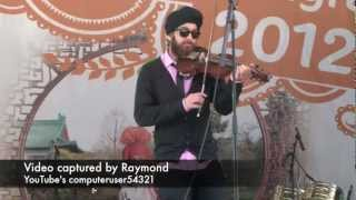 Violinder - LIVE - VIBC 2012 HSBC City of Bhangra