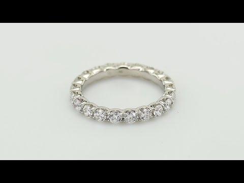 f4aa98268ff Zlatý eternity prsten s diamanty Amity - Eppi - thsiam.com