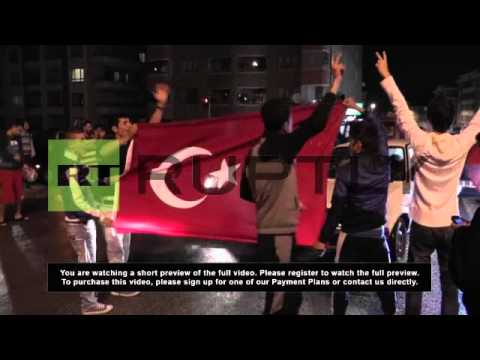 Turkey: Ankara protest peaceful after deal with police