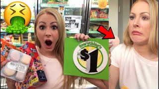 EATING ONLY DOLLAR TREE FOODS FOR 24 HOURS!