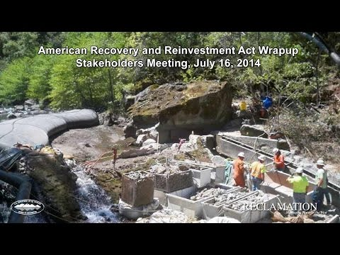 American Recovery and Reinvestment Act Wrapup