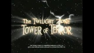 Disney's California Adventure Twilight Zone Tower Of Terror Commercial TV Vintage