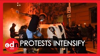 George Floyd: Violence Escalates Across USA as Unrest Comes to White House