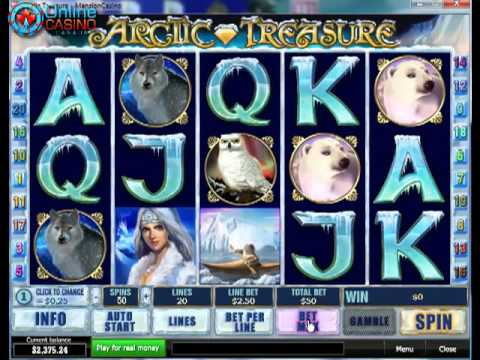 Arctic Treasure Slots