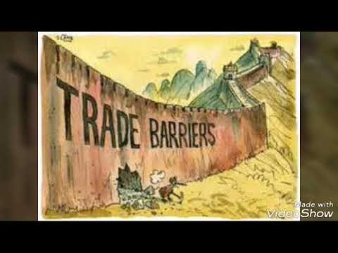 AS Economics - Protectionism(Trade Barriers)