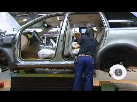 Volvo Cars factory in Gothenburg, Sweden. - YouTube