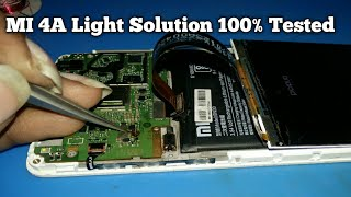 MI 4A Display Light Solution 100% Tested || Xiaomi Redmi 4a Lcd Light not  working Solution by mobile R sikhe