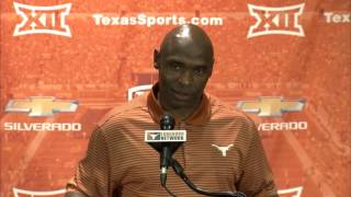 Charlie Strong press conference [Sept. 28, 2015]