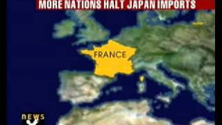 More nations halt Japan imports