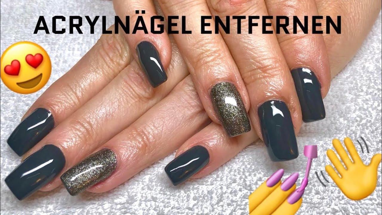 Acryl Nägel Entfernen