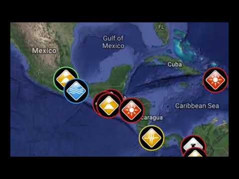 //ALERT\\6.0 Earthquake Golfito, Costa Rica/5.0 Earthquake Xinjiang,China August, 17, 2018