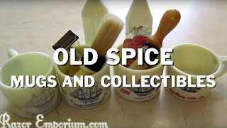 Video Old Spice mugs, aftershave bottles, and shaving brushes - oh my! download MP3, 3GP, MP4, WEBM, AVI, FLV Agustus 2018