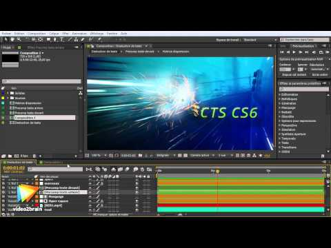 Adobe After Effects CS6 : Cache disque persistant