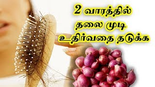 onion Oil For Fastest Hair Growth | onion  oil | Hair Growth Tips in Tamil | Hair Growth Oil | Oil