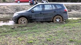 Test drive. Part 2. Hyundai santa fe. Самостоятельное выгребание