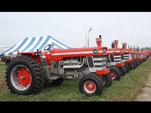 Massey Ferguson Tractor Exhibit at the 2015 Half Century of Progress