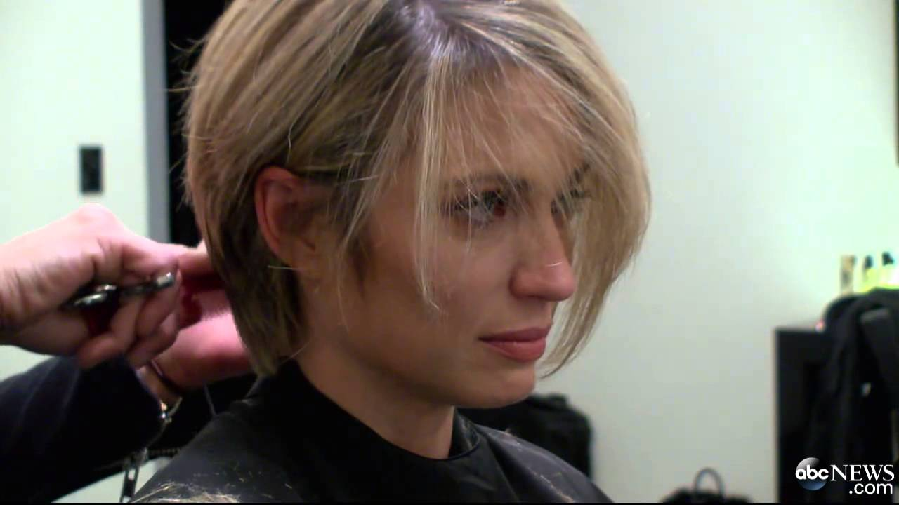 Amy Robach's New Haircut During Chemo - YouTube