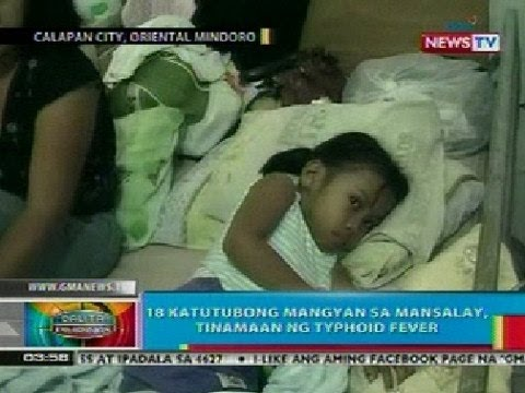BP: 18 katutubong Mangyan sa Mansalay, Or. Mindoro, tinamaan ng typhoid fever