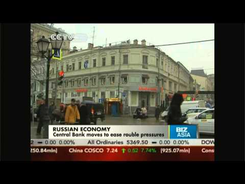 Russian central bank moves to ease rouble pressures