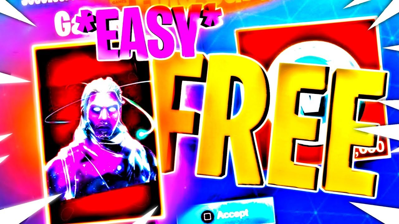 how to get free skins in fortnite pc