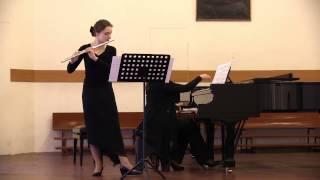 Johann Baptist Vanhal. Sonata for flute & keyboard