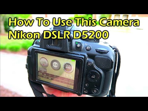 How To Use A DSLR Camera - Nikon / Canon