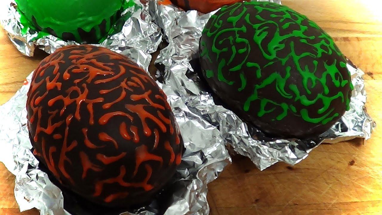 Decoracion huevos de chocolate con royal icing youtube - Decoracion con chocolate ...