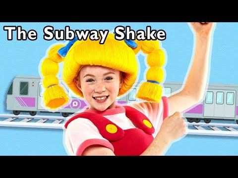 The Subway Shake and More | NEW TRAIN SONG FOR KIDS | Mother Goose Club