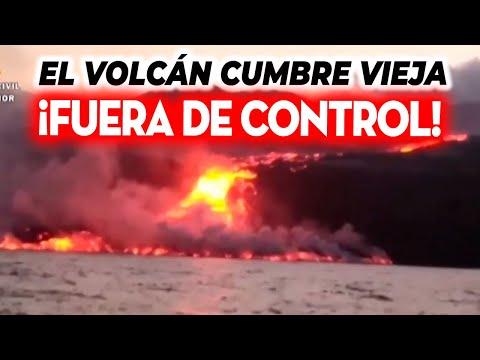 TODO EMPEORA EN CANARIAS: EL VOLCÁN CUMBRE VIEJA SE DESCONTROLA