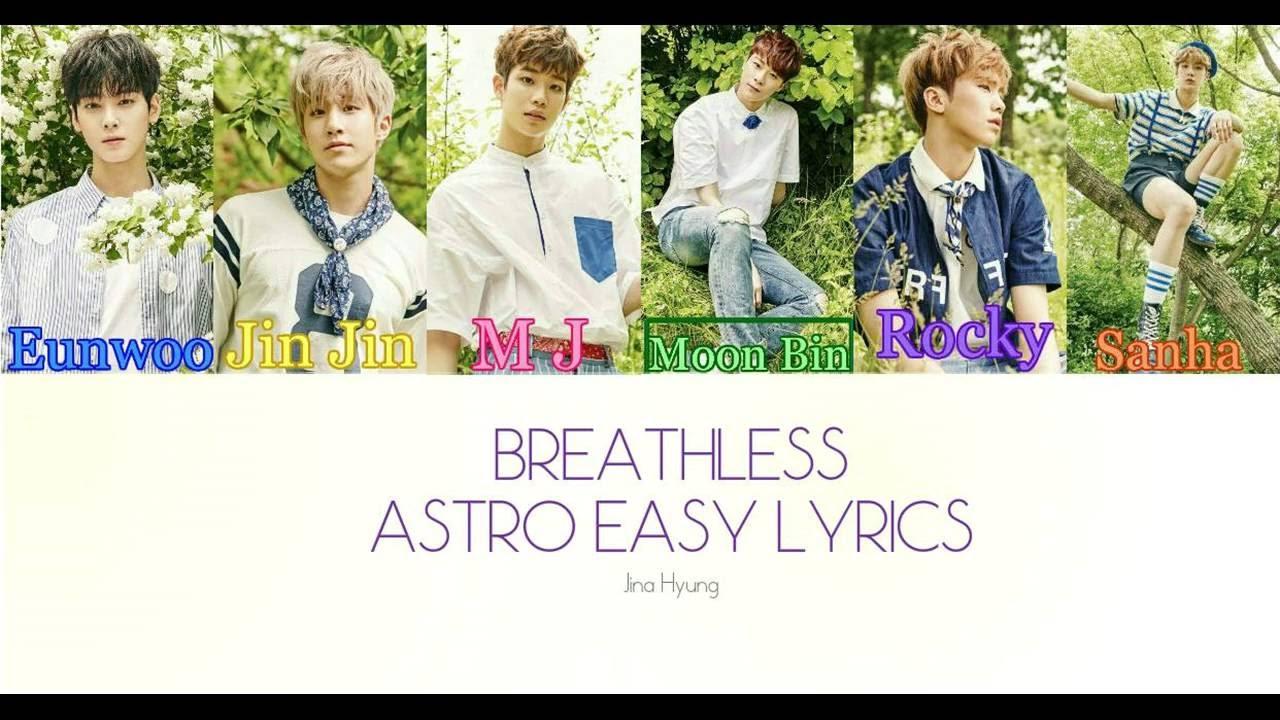 ASTRO (아스트로) - CRAZY SEXY COOL (니가 불어와) Lyrics [Color ...