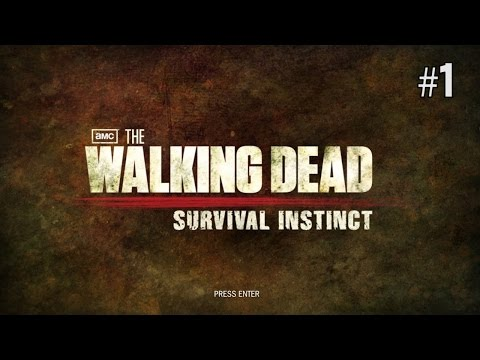 Twitch Livestream | The Walking Dead Survival Instincts Part 1 [PC]