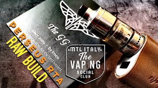 RAW BUILD - PERSEUS RTA by GOLDEN GREEK