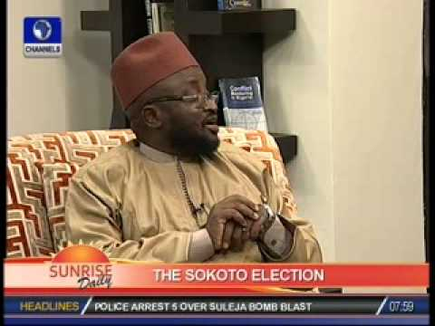 Discussing Sokoto State Governorship Election